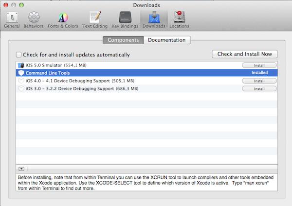 Mountain Lion Xcode MacOS Mountain Lion co...