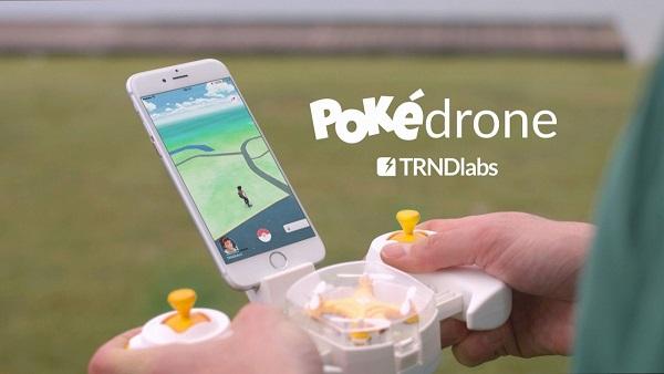 PokeDrone il drone per giocare a Pokemon GO